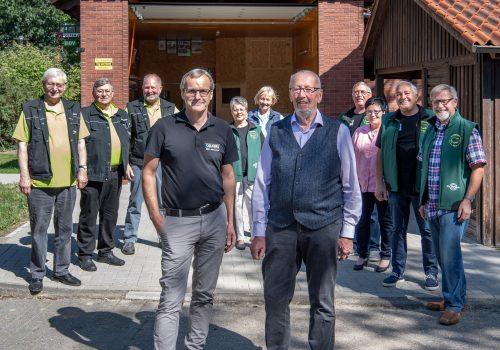 Spende Für Die Wühlmäuse Und Den Bürgerbusverein