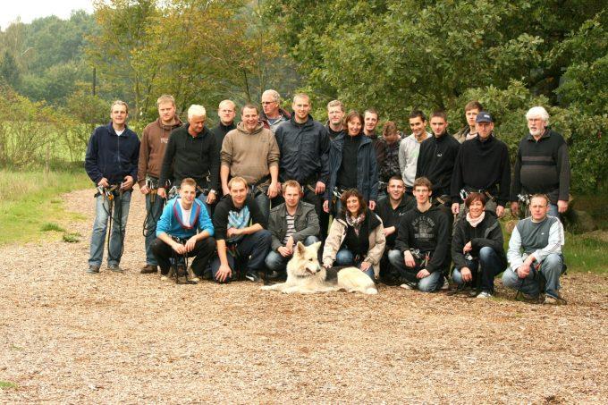 Betriebsausflug 2010, Maxwood Hochseilgarten