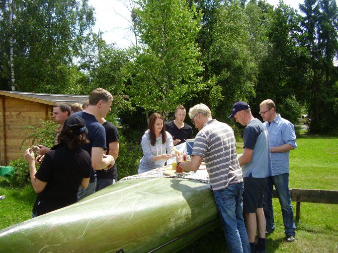 Betriebsausflug 2012, Celle Und Kanu-Tour