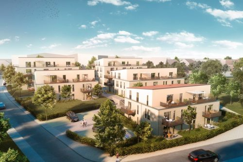 Neubau 5 Mehrfamilienhäuser Achim