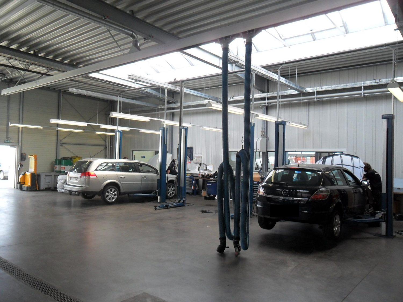 Neubau Autohaus In Buchholz, Werkstattbereich