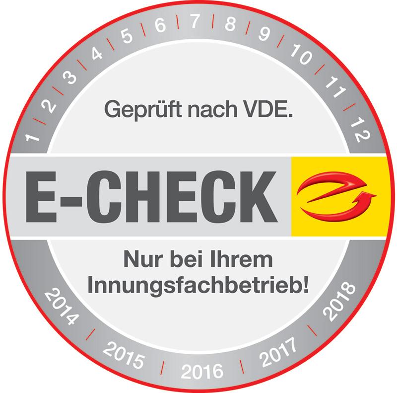 E-CHECK Logo