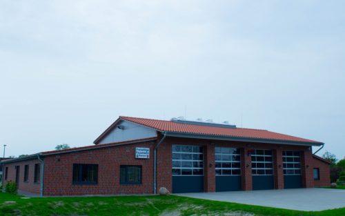 Neubau Feuerwehr Gerätehaus Bassen