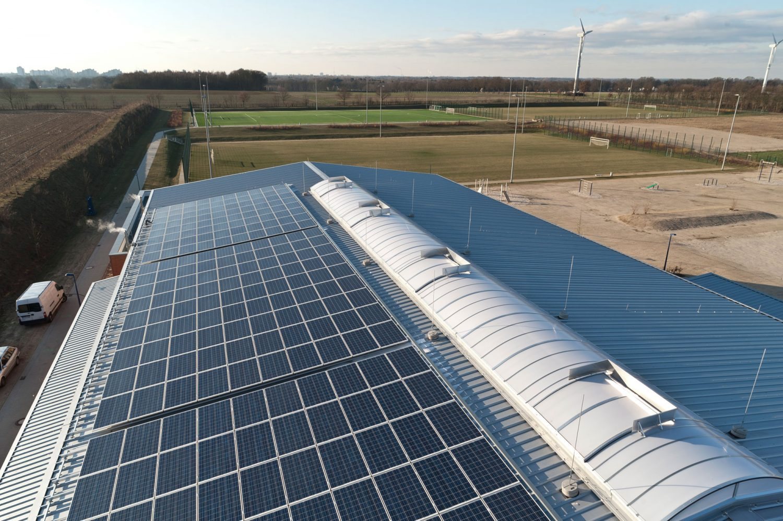 Photovoltaikanlage Sporthalle Oyten