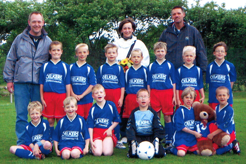 Fußball E-Jugend TV Oyten Sponsoring